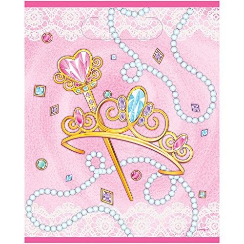 Partyzubehör, Prinzessinnen-Motiv, Pink