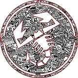 Aufkleber wählbar Adhesivo Sticker Logo Skorpion Abarth Stickerbomb Sticker Bomb weiß schwarz Tuning 10cm Aufkleber Autocollant