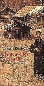 vignette de 'Des Nouvelles d'Agafia (Vassili Peskov)'