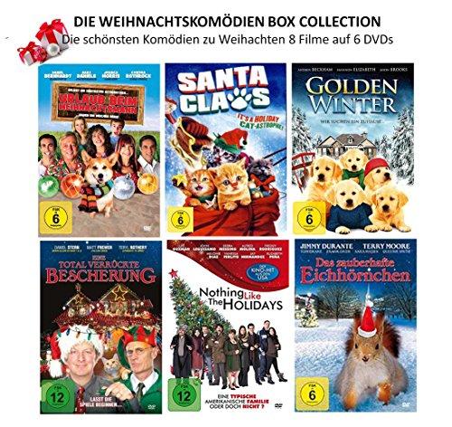 Die Weihnachtskomödien Box Collection ( Die schönsten Komödien zu Weihnachten ) 8 Filme auf 6 DVDs