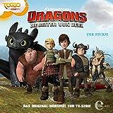 Der Sturm/Die Fackel. Das Original-Hörspiel zur TV-Serie: Die Reiter von Berk. Dragons 2