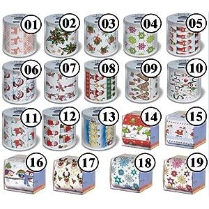 Rolle Toilettenpapier Motiv Auswahl möglich Weihnachten