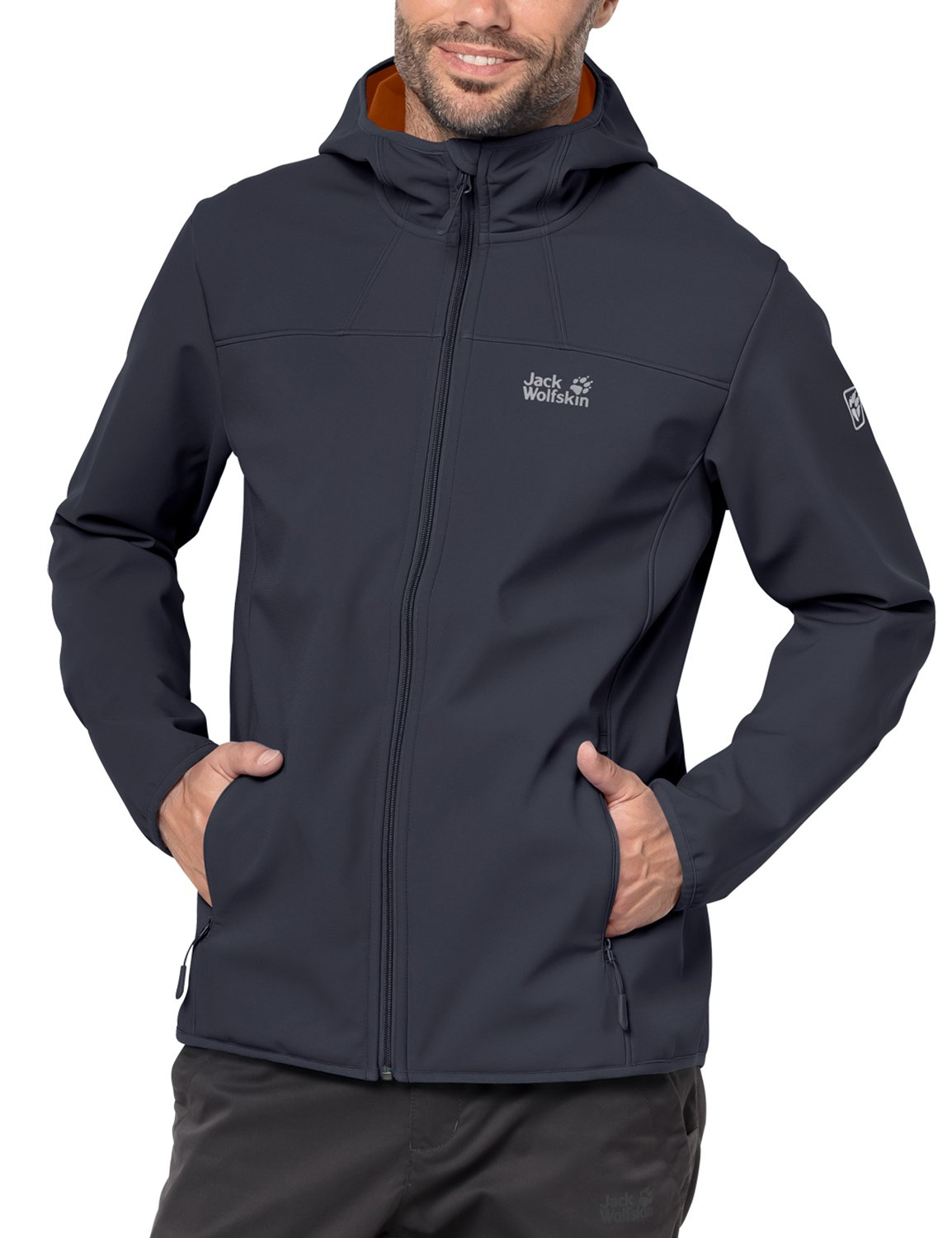 61xbrP2bHQL - Jack Wolfskin Northern Point Softshell Jacket Men, Men, NORTHERN POINT