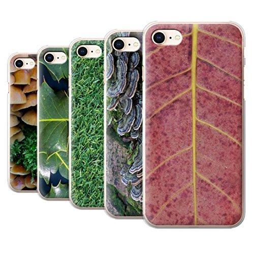 Stuff4 Hülle / Case für Apple iPhone 8 / Gras / Rasen Muster / Pflanzen/Blätter Kollektion Pack 8pcs