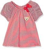 Steiff Baby - Mädchen T-Shirt 1/4 Arm 6713141, Gestreift, Gr. 68, Mehrfarbig (y/d Stripe 0001)