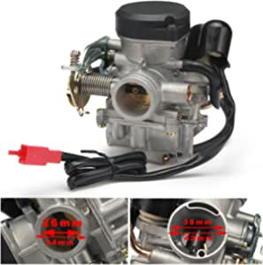 26 Mm Cvk26 Carb Carburettor Replacement Keihin Motorcycle For Motorcycle Scooter Dirt Bike Atv Scooter Gy6 50cc 110cc 125cc 150cc 200cc 250cc 300cc 350cc 400cc 500cc 800cc Auto