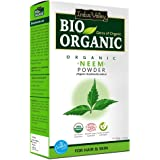 INDUS VALLEY Neem Powder 100% Organic & Chemical Free Hair Cleanser For Healthy Hair - (100g)