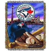 MLB Toronto Blue Jays-Home-Coperta in tessuto, un vantaggio, 48 x 60 cm)
