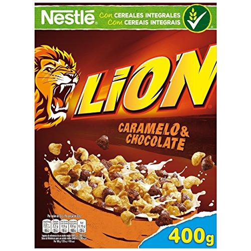 Lion Cereales Desayuno - Paquete de 16 x 400 gr - Total: 6.4 kg