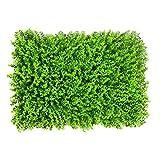 LVZAIXI Künstliche Gras-Matten/Matten/Teppiche Im Freien gefälschter Rasen-Rasen-Hoher Dichte Natur-realistischer Garten-Rasen-Haustier im Freien (Farbe : 03, Größe : 40*60Cm)