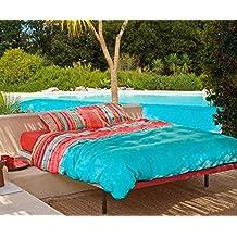 Bassetti Granfoulard.- Funda nordica Tiziano V3 azul para cama de 150