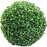 DAY Artificial Topiary Leaf Effect Grass Ball (32Cm Green)
