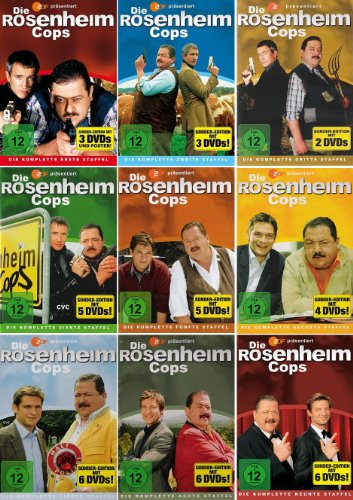 Staffel 1-9 (40 DVDs)