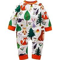 WINJIN Combinaison Bébé,Jumpsuit bébé,Barboteuse Pyjama Bébé Vêtement Bébé Fille Garçon Nouveau-né Bébé Garçon Filles…