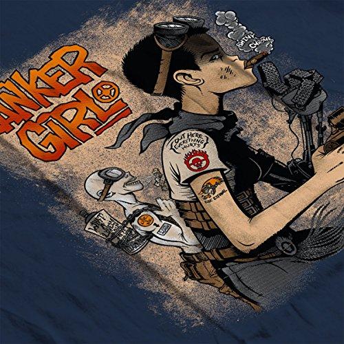 Tanker Girl Mad Maxy Fury Road Tank Women's Vest Navy blue
