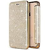 Coque iPhone XR,Surakey Cuir PU Housse à Rabat Portefeuille Étui de Bumper Folio à...