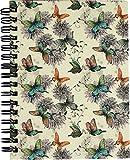 RNK 46507 Notizbuch, DIN A6 mit Register A-Z, 'Butterflies'