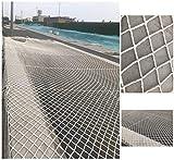 WGE Gebäudesicherheitsnetz, Auto-Gartenzaun-Netz, Geflügel-Netz, Treppen-Balkon-Sicherheits-Schutz-Zaun-Netz scherzt Anti-Fall schützen Ineinander greifen, 5cm Meshses, 5M X 16 M