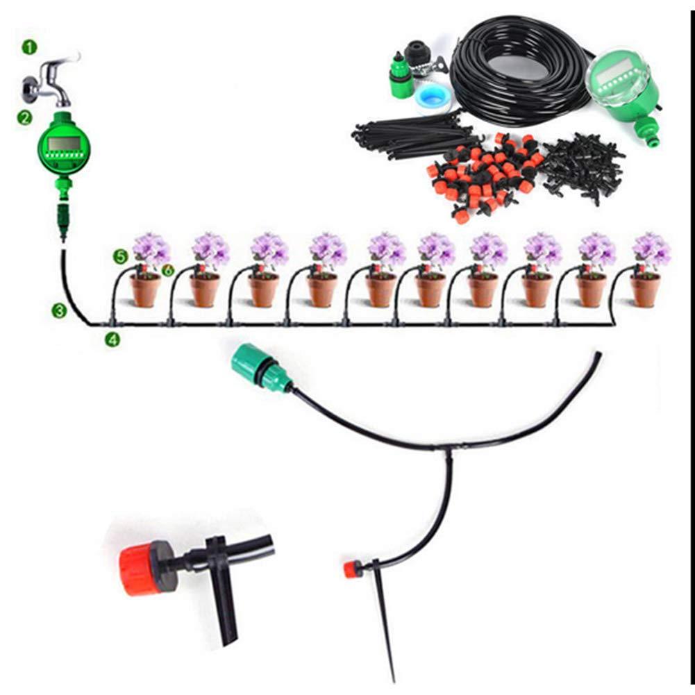 HAOHAODONG Automatische Bewässerungsanlage Tropfbewässerung Automatische Bewässerung Gartenbewässerung Werkzeug…