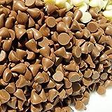 Gocce di cioccolato al latte 300g-confezionati singolarmente-Fontana decorazione di dolci, dessert baking party Celebration (300)