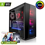 Megaport High End Gaming PC AMD Ryzen 5 2600X 6 x 4.20 GHz Turbo • Nvidia GeForce RTX 2060 6GB • 240GB SSD • 1000GB...