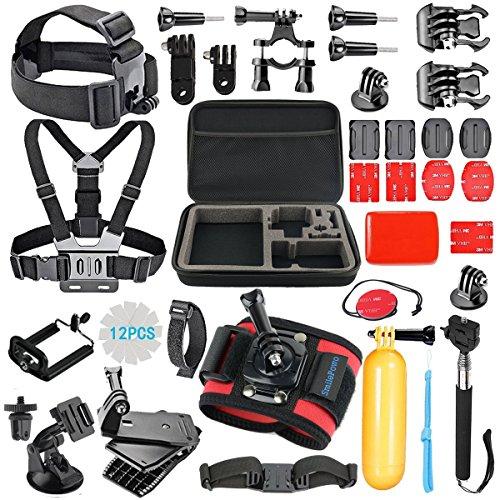 smilepowo-42-in-1-accessory-kit-for-gopro-hero5-black-hero5-session-hero-4-silver-black-hero-session