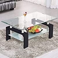 Amazoncouk Glass Living Room Furniture Furniture Home Kitchen