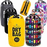 fc29a9aff2b60 Drybag in 2L 5L 10L 20L 30L o. 40L – 100% wasserdichter Packsack   Seesack    effektiver Schutz gegen Staub Sand Wasser   Schmutz für Kajak Kanu Segeln  ...