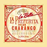 La Bella - Juego de cuerdas de nailon para charango, 10 unidades
