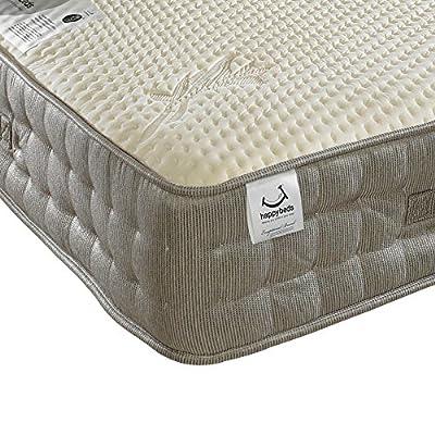 Happy Beds Bamboo Vitality 2000 Pocket Sprung Reflex Memory Foam Mattress