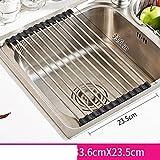 Edelstahl-abfluss-korb Speicher entleeren schüssel küche spüle geschirrablage-B