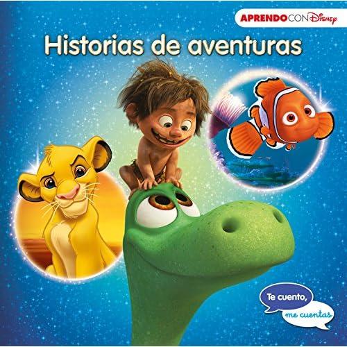 Historias de aventuras (Te cuento, me cuentas una historia Disney): Buscando a Nemo, El viaje de Arlo y El rey León 11
