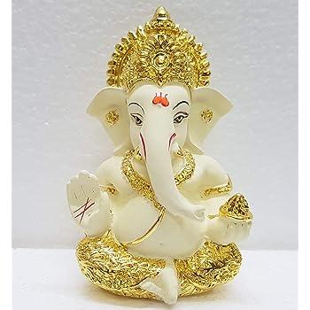 Buy Papilon Handmade Gold Plated Siddh Ganesh Ji Spiritual