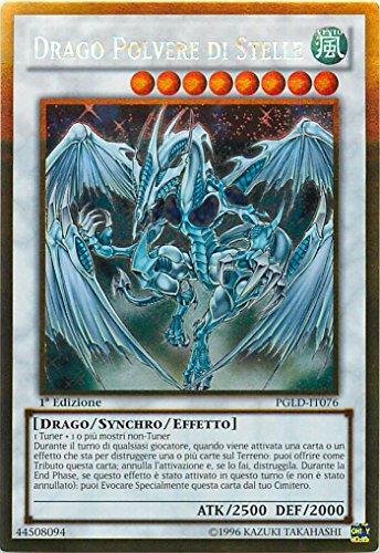 Yu-Gi-Oh! - PGLD-IT076 - Drago Polvere Di Stelle - Premium Oro - 1st Edition - Oro