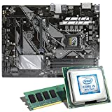 Intel Core i5-8500 / ASUS Z370-P Mainboard Bundle / 8GB | CSL PC Aufrüstkit | Intel Core i5-8500 6x 3000 MHz, 8GB DDR4-RAM, Intel UHD Graphics 630, GigLAN, 7.1 Sound, USB 3.1 | Aufrüstset | PC Tuning Kit