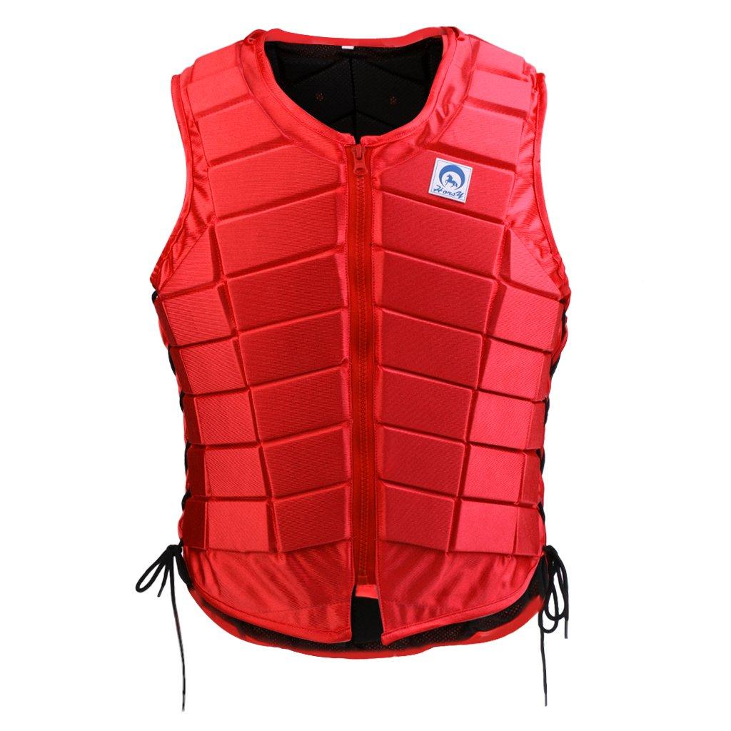IPOTCH 1 Pc Reiten Schutzausrüstung Sicherheitsweste Reitweste für Reiter Körperschutz