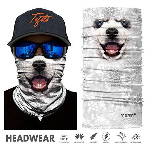 TEFITI - Máscara protección Cara Animales, Camping