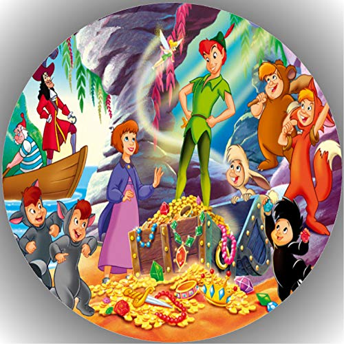 Fondant Tortenaufleger Tortenbild Geburtstag Peter Pan T5