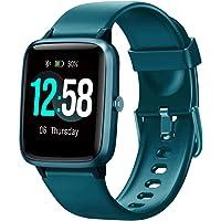 Blackview Smartwatch, Fitness Armband Uhr Voller Touch Screen Fitness Tracker mit Pulsmesser, 5ATM Wasserdicht…