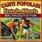 Canti Popolari Festa in Allegria Vol.4