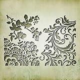 "Ellison Europe Sizzix ""recuerdos # 2por Tim Holtz Thinlits Die Set, de acero al carbono, multicolor, Pack de 3"