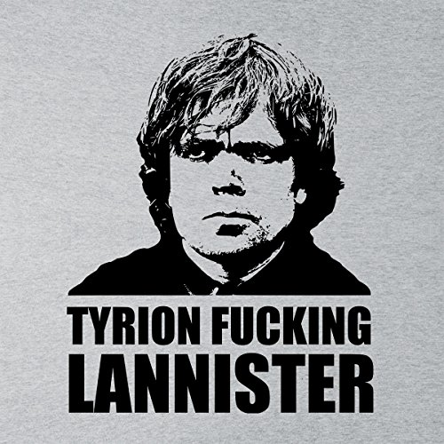 Tyrion Fucking Lannister Game Of Thrones Men's Vest Heather Grey