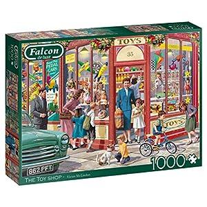 Jumbo 11284 Falcon de Luxe - The Toy Shop Rompecabezas de 1000 Piezas