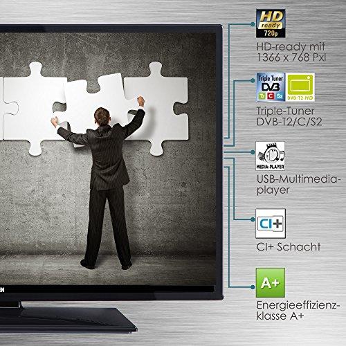 Telefunken XH28D101 72 cm (28 Zoll) Fernseher (HD Ready, Triple Tuner) - 7