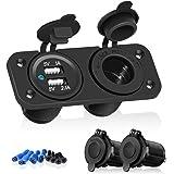 Adaptateur 2 Ports USB 12V Pour Moto Auto Voiture Camion Téléphone