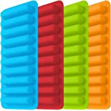 Ice Tube Making Trays, Perfect Ice Cube Sticks Molds for Small Mouth Sport Water Bottles, Bottled Soda, IHUIXINHE Silicone Ic