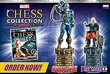 Colección Ajedrez Marvel Comics Marvel Chess Collection Edición Doble Apocalypse y Professor Xavier