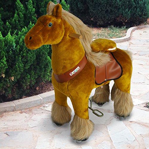 PonyCycle®Shop poney officiel d'équitation Marche mécanique Cheval royal Moyen