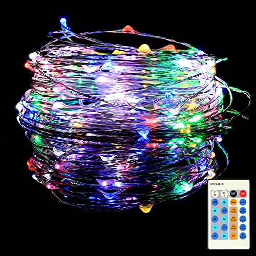 Stringa fata luce, befied 10m 100led string luce di natal luci della stringa per la decorazione casa matrimonio natale partito filo della lampada colorata (multicolore)