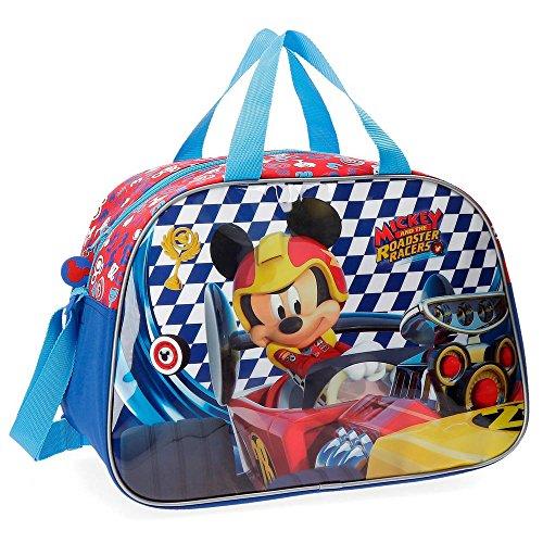 BORSA Borsone Topolino Mickey Mouse Disney Tote da Viaggio Bambino Palestra CM 38X20 H.23-57886 Borsa per pinne